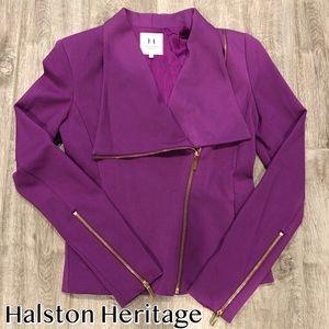 Halston Heritage Purple Blazer
